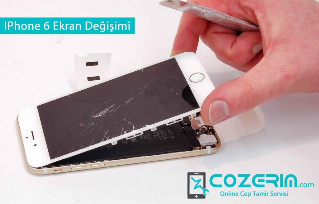 IPhone 6 Ekran Değişimi Servisimizde Garantili Olarak Yapılmaktadır
