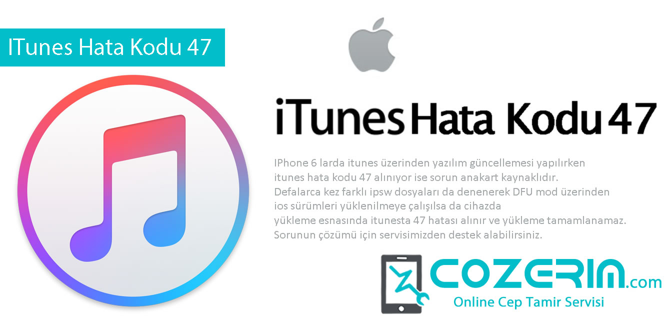 Error 47 itunes apple iphone 6 cozerim com