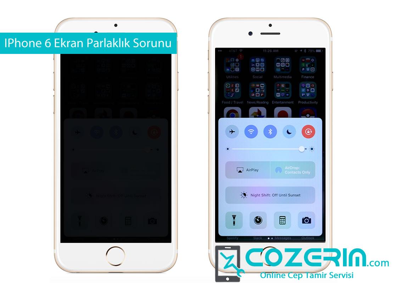 IPhone Parlaklik Artmıyor Cozerim com