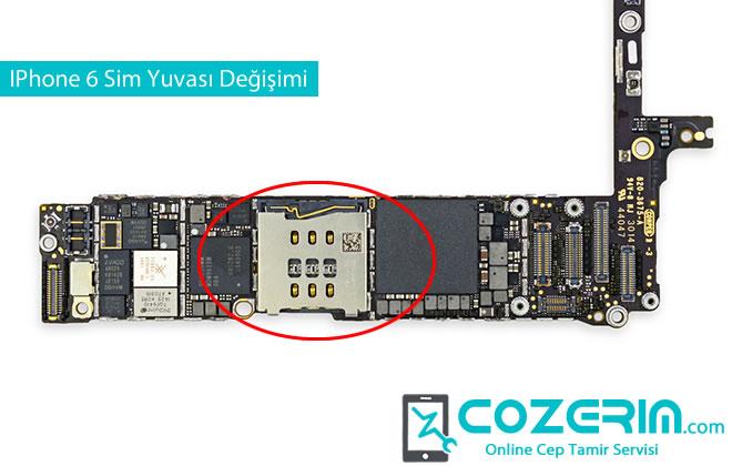 IPhone 6 Sim Yuvasi Degisimi Cozerim Com