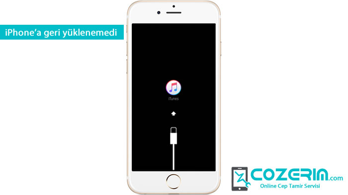 IPhone 6 4013 Hatası iPhone'a geri yüklenemedi. Itunes Logosunda Kaliyor Cozerim Com