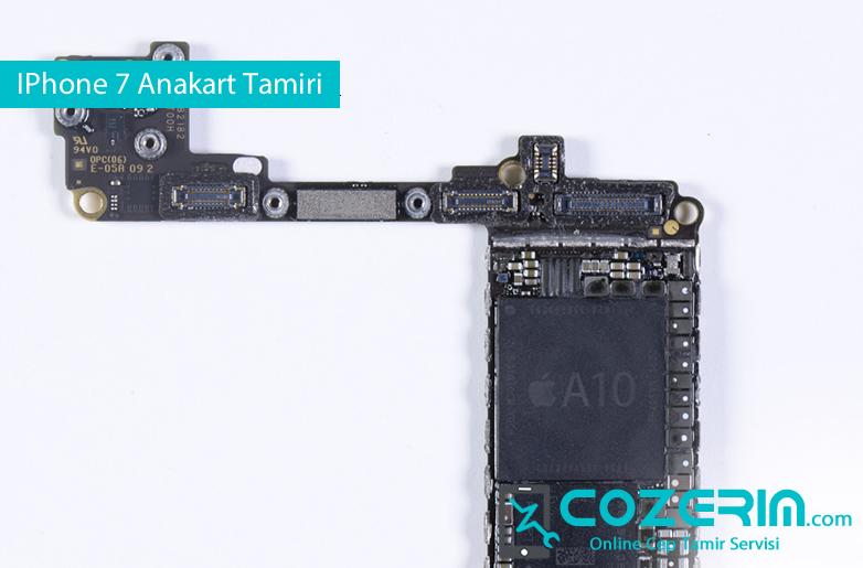 IPhone 7 Sivi Temasi Anakart Tamiri