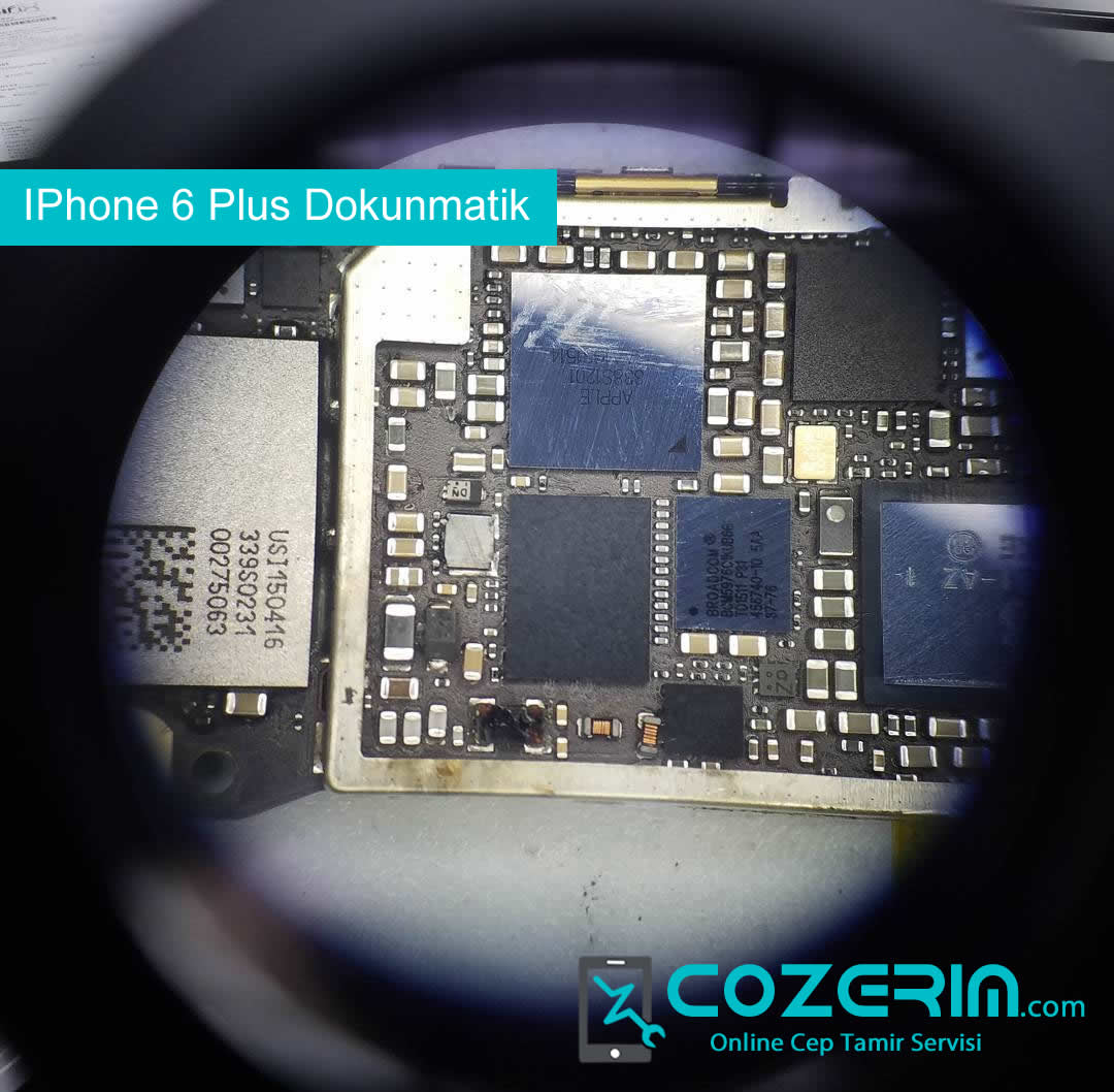iphone 6 plus dokunmatik entegresi degisimi dokunmatik donuyor