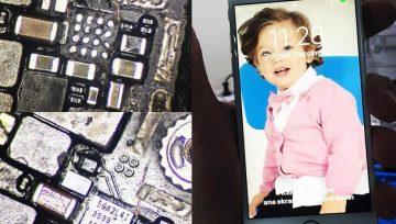 IPhone 6S Görüntü Yok Anakart Tamiri