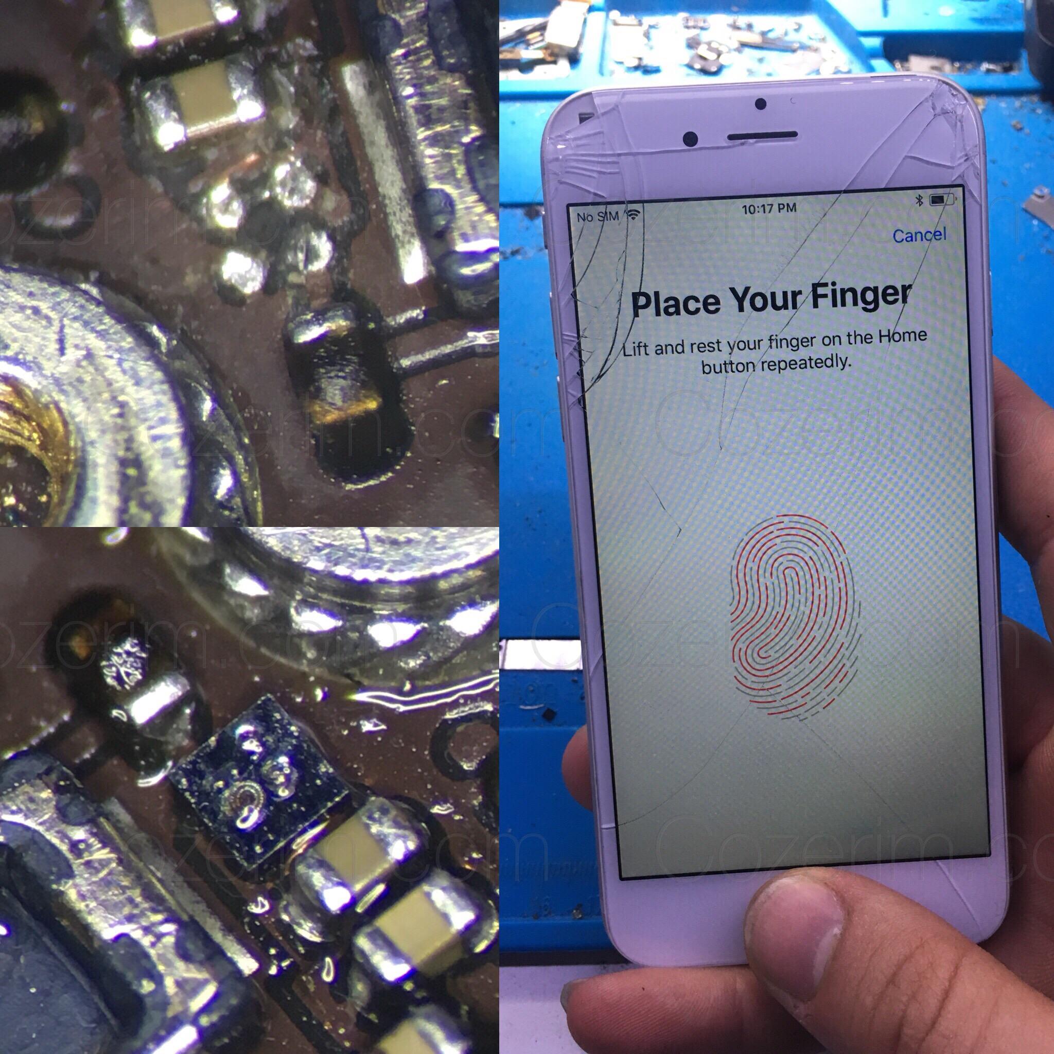 iphone 6 parmak izi okuyucu çalışmıyor