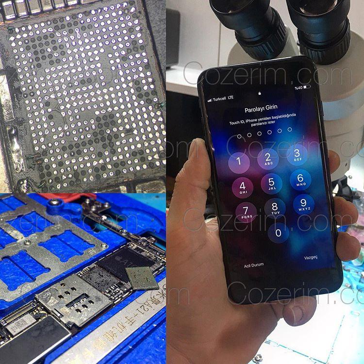iphone 7 servis yok sorunu anakart tamiri