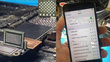 IPhone 7 ve 7 Plus Wifi Entegresi Değişimi