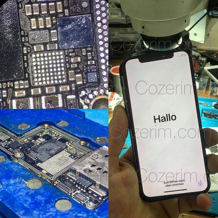 IPhone X Anakart Yandı
